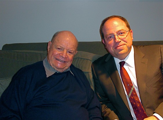 Rickles and me